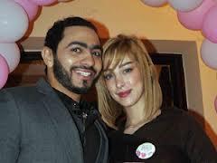 تامر حسني ينتظر مولوده الثاني من بسمة بوسيل