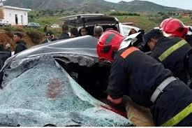 مصرع أربعة وجحر اخرين في إصطدام مروع بين شاحنة وسيارة خفيفة بكلميم