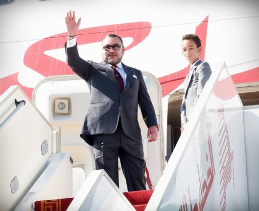محمد السادس يبدأ زيارة لروسيا وانجلترا قبل جولة تقوده لبلدان افريقية